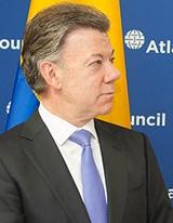 Latin America Center Hosts Colombian President