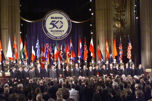 Central European Nations Glad to be in NATO