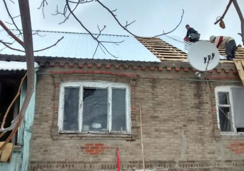 Rebuilding Ukraine one house at a time