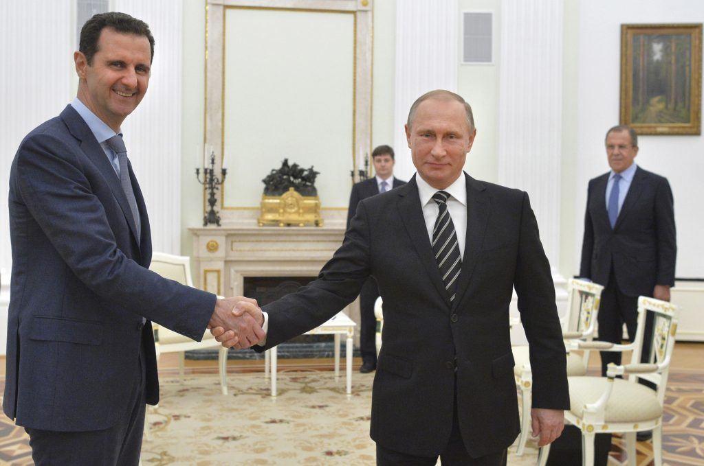 Syria Just Backed Russia's Illegal Occupation of Georgian Regions