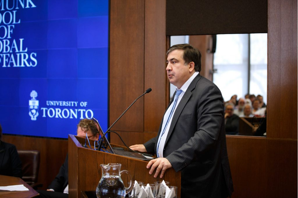 """Mikheil Saakashvili: """"By my own standards, I failed on every account in Odesa."""""""