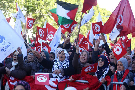 Tunisian civil society's unmistakable role in keeping the peace
