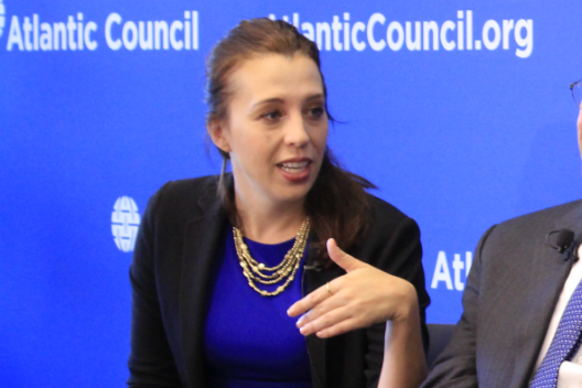 Aubrey Hruby testifies before the US International Trade Commission