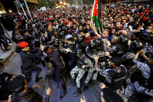 Factbox: Jordan's austerity protests