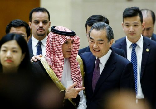 China's Persian Gulf strategy: Keep Tehran and Riyadh content