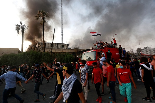 What do the renewed protests in Iraq mean?