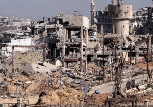 Breaking Ghouta