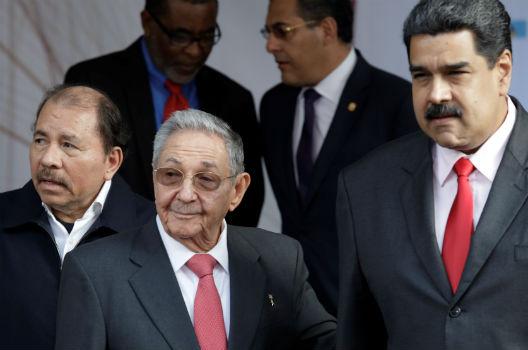 John Bolton takes Latin American 'troika of tyranny' to task