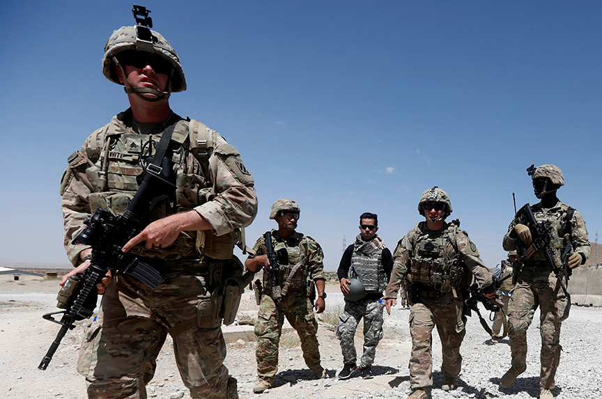 US troop drawdown from Afghanistan needs to be done responsibly