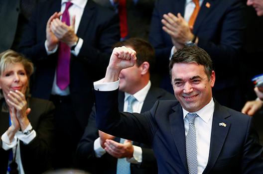 Macedonia signs NATO accession protocol: 'We will never walk alone again'