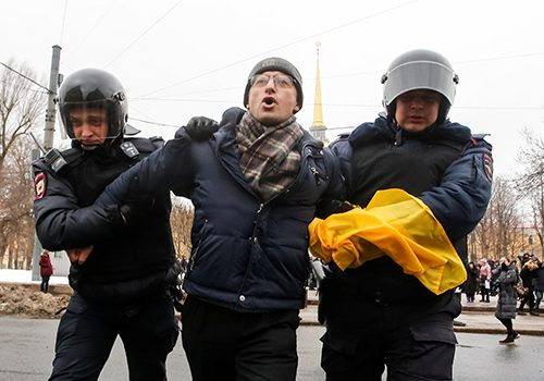 Russian youth in the Moscow protests