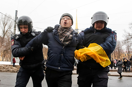 More and more Russians are fleeing oppression in Russia
