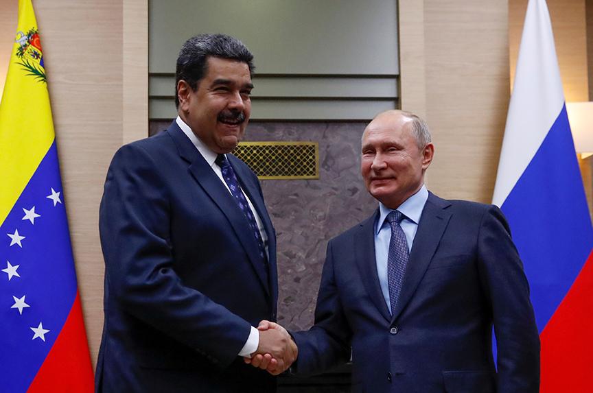 Russia ups the ante in Venezuela