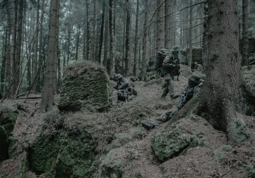 Jednostka Wojskowa Komandosów soldiers training in the Stołowe Mountains, May 18, 2018 (photo: Polish Ministry of Defense).