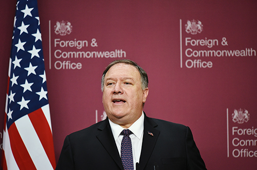 China wants to 'divide western alliances through bits and bytes,' warns Pompeo