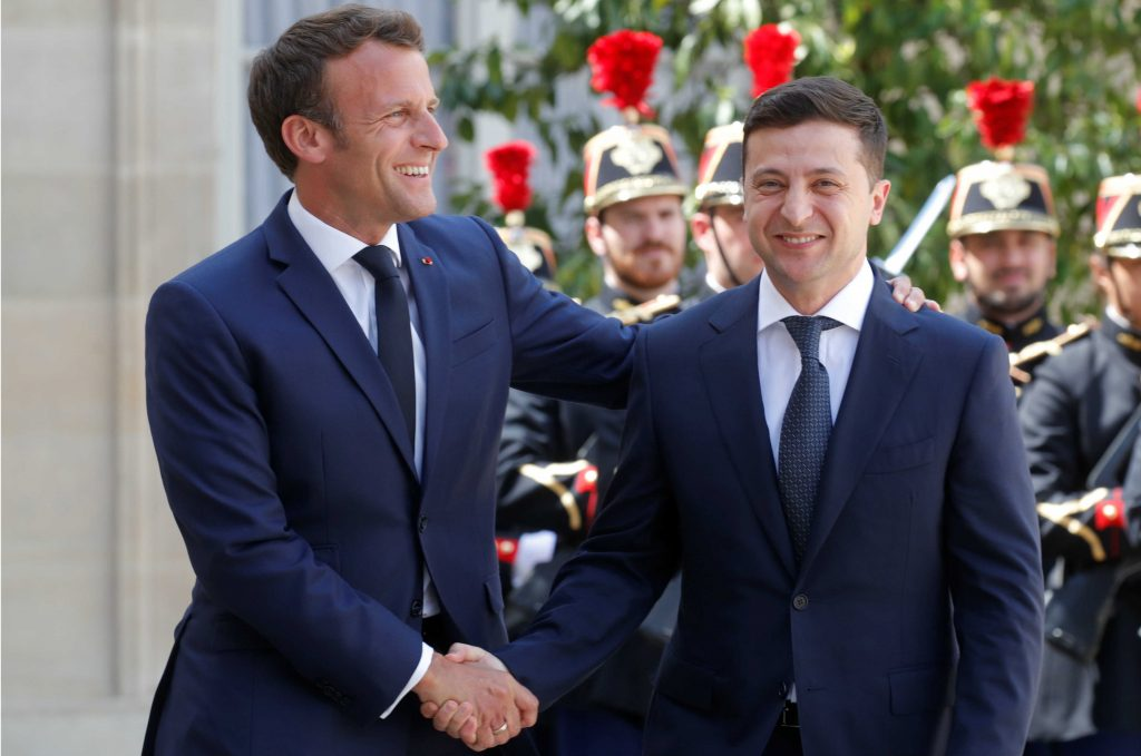 One month into the Zelenskyy presidency and Ukraine's still here