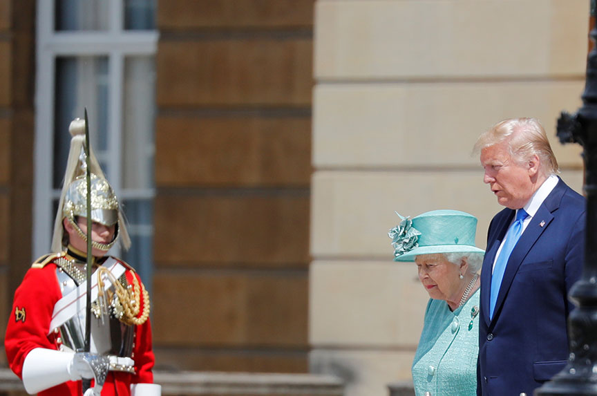 Trump in the UK: A visit well spent