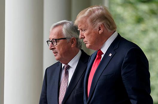US-European trade talks stall