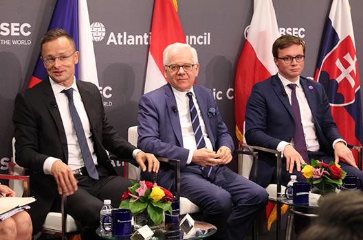 Central Europe ready to lead on strengthening the transatlantic bond