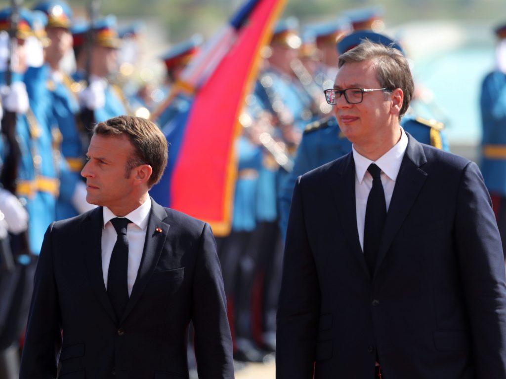 Macron's Belgrade pivot
