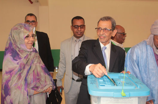 Reviewing Mauritania's historic election