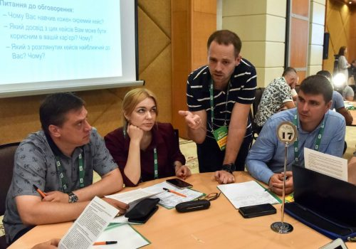 Ukrainian business leaders want better economic policy and rule of law