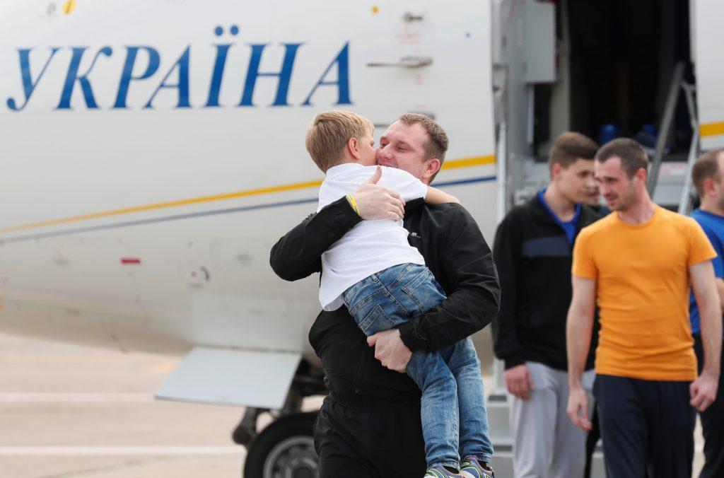 What price did Ukraine pay for prisoner exchange?