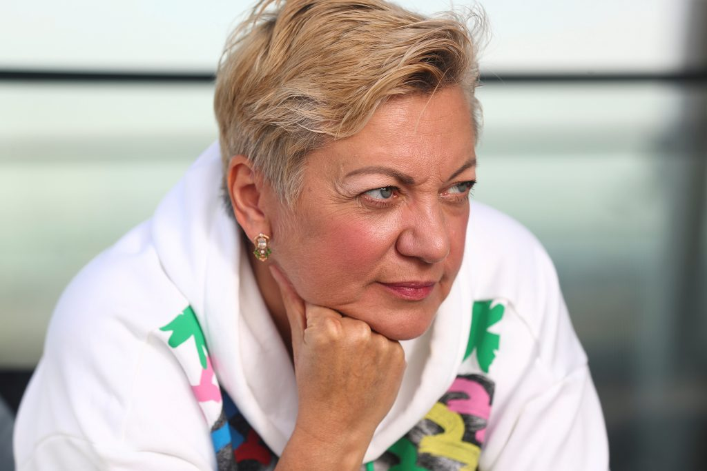 """Gontareva: """"Too many have sacrificed and died to let oligarchs run the country again."""""""
