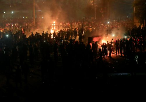 Why Arab Sunnis are disengaged from Iraq's protests