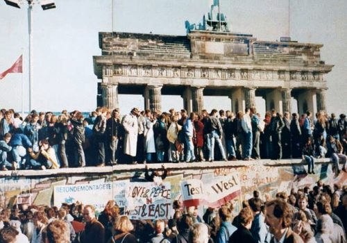 Hopes and gains from Berlin Wall's fall at risk