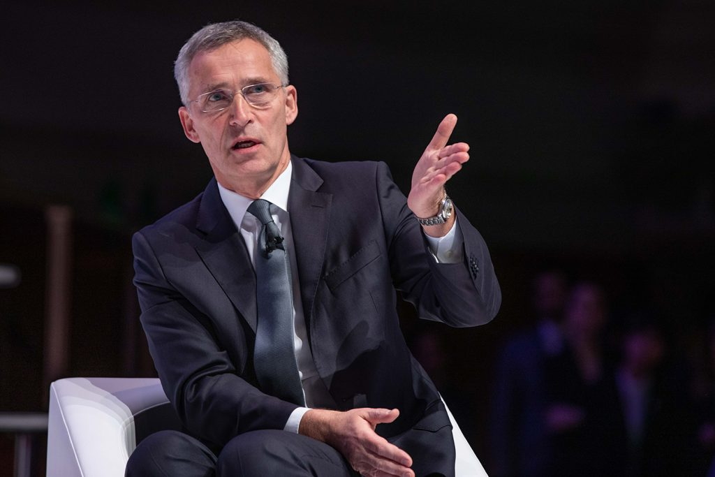 NATO secretary general: The Alliance is delivering