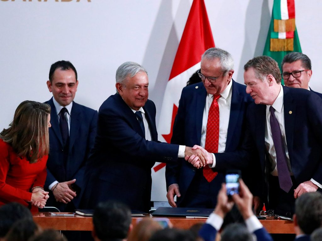 Conference call: US-Mexico-Canada Agreement (USMCA) deal reached