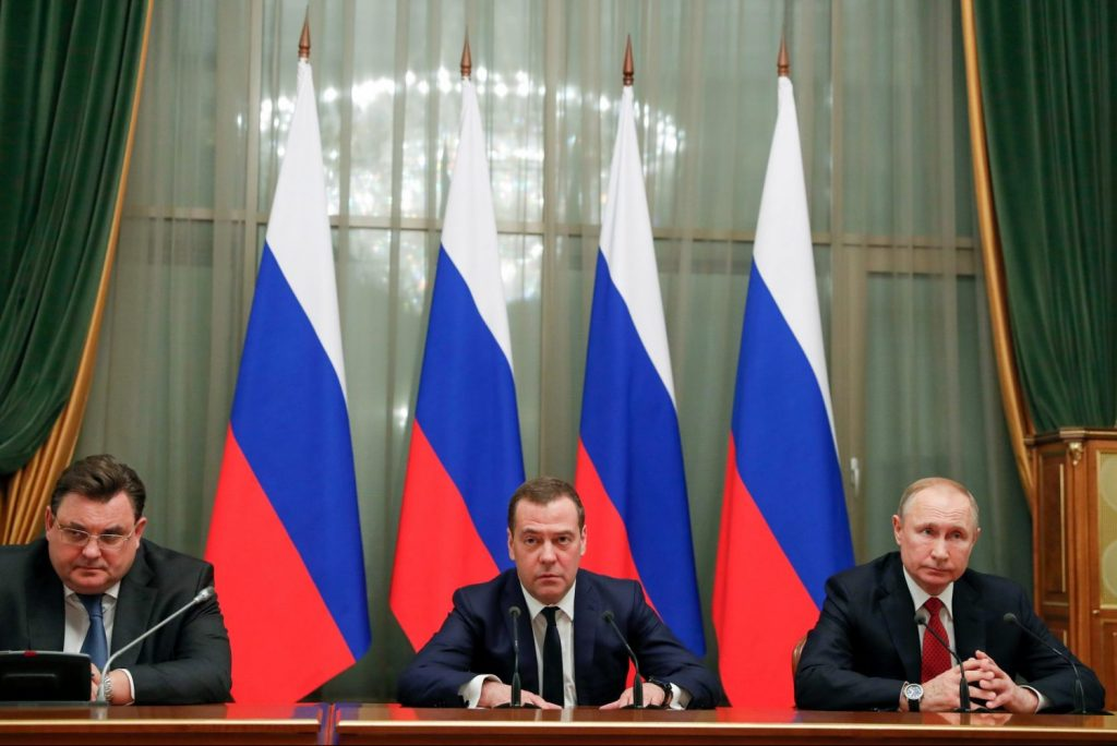 Putin makes changes as Russia stagnates