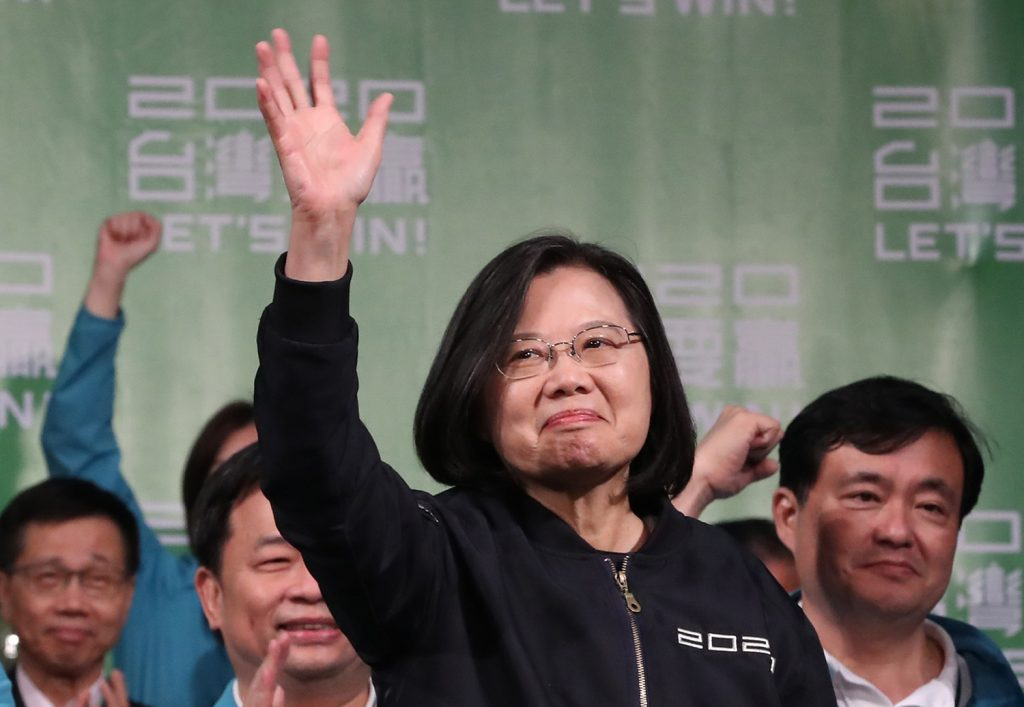 After the 2020 Taiwan election: Strengthening defense and security cooperation