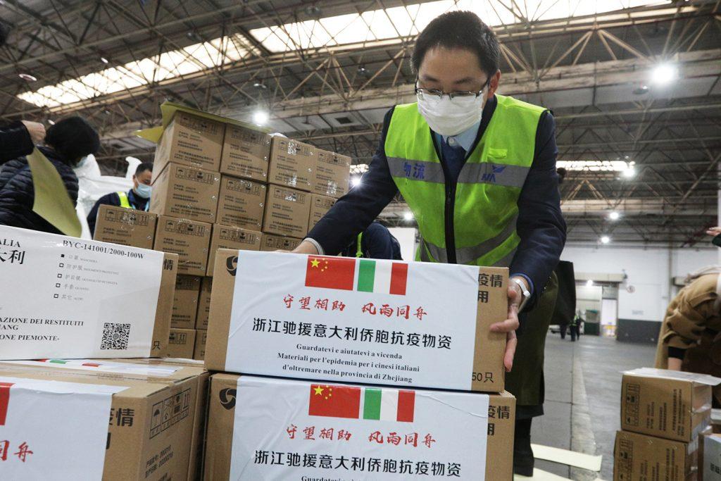 Is China winning the coronavirus response narrative in the EU?