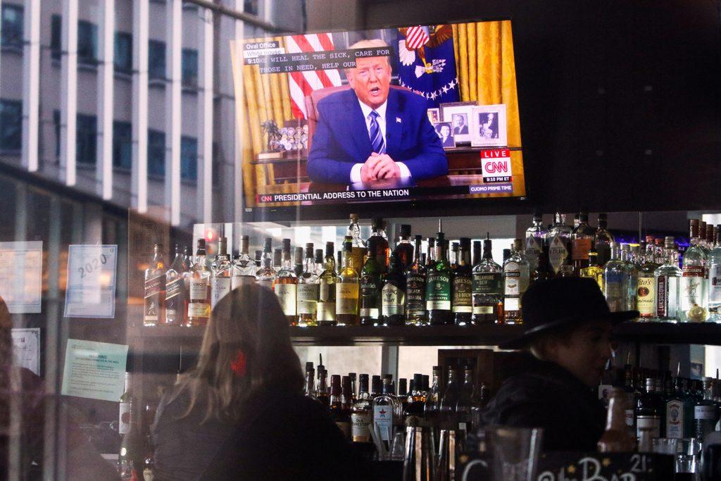 Trump hits out against Europe in coronavirus speech: The transatlantic alliance suffers