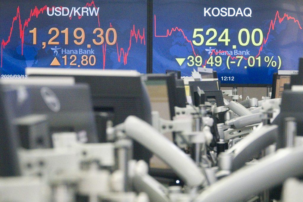 The coronavirus recession deepens financial market turmoil